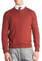 Brunello Cucinelli Wool/Cashmere Crewneck Sweater