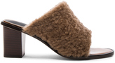 Tibi Boni Sheep Shearling Mules