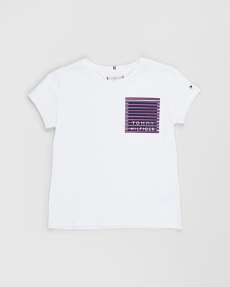 Tommy Hilfiger Nautical Graphic Short Sleeve Tee - Teens