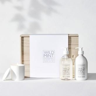 The White Company Wild Mint Luxury Gift Set, No Colour, One Size