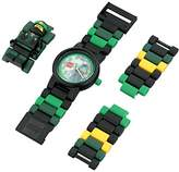 Lego Ninjago Movie 8021100 Lloyd Kids Minifigure Link Buildable Watch | /black| plastic | 28mm case diameter| analog quartz | boy girl | official