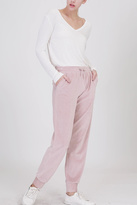 Double Zero Velour Drawstring Pants