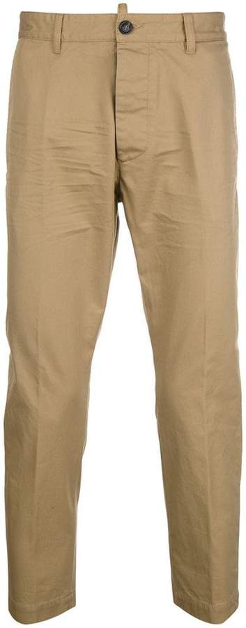 DSQUARED2 cropped chinos
