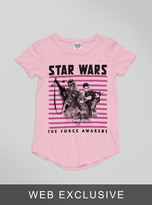 Junk Food Clothing Kids Girls Star Wars The Force Awakens Tee-patti-xs
