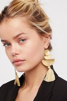 SANDY HYUN Bryce Canyon Tassel Earrings by at Free People
