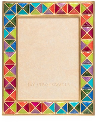 Jay Strongwater Abaculus Pyramid Picture Frame