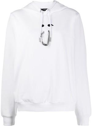 Diesel Carabiner-Clip Hooded Sweatshirt