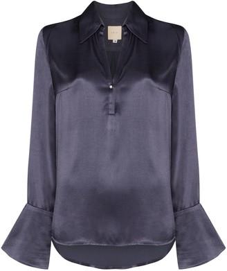 Usisi Catarina satin blouse