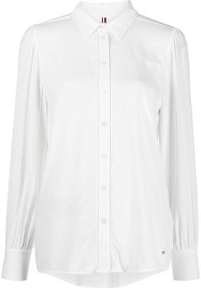 Tommy Hilfiger Button-Up Georgette Shirt