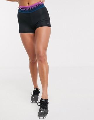 Nike Training Nike Pro Training booty shorts in black