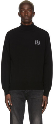 Enfants Riches Deprimes Black Wool ERD Turtleneck