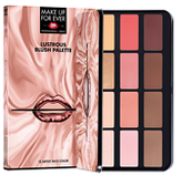 Make Up For Ever Lustrous Blush Palette