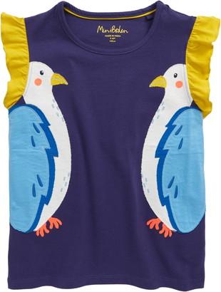 Boden Flutter Applique T-Shirt
