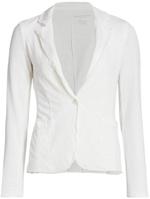 Majestic Filatures Lightweight Knit Linen Blazer