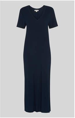 Whistles Longline Jersey Dress