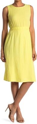 RD Style Gauze Back Cutout Midi Dress