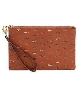 Fossil Wristlet Brown