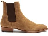Saint Laurent Wyatt Suede Cheslea Boots