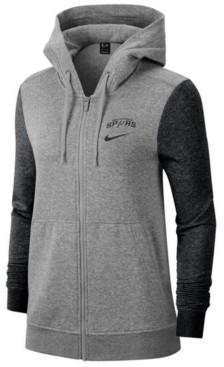 Nike Women's San Antonio Spurs Full-Zip Club Fleece Jacket