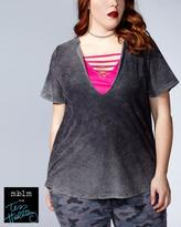 Penningtons Tess Holliday - Short Sleeve Top with Cami