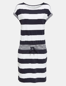 Esprit Jersey Dress in Organic Cotton - L