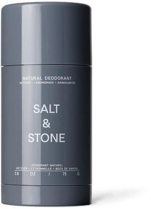 Salt & Stone Natural Deodorant Vetiver Lemongrass Sandalwood