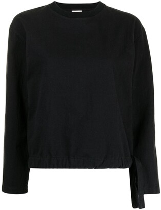 Dries Van Noten Pre-Owned Elasticated Hem Sweatshirt