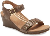Aetrex Grace Wedge Sandal