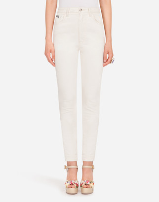 Dolce & Gabbana Audrey-Fit Jeans In Stretch Cotton