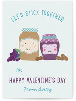 Minted Stick Together Classroom Valentine's Day Cards