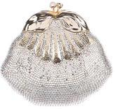 Judith Leiber Swarovski Clam Shell Clutch