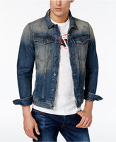 G Star Men's Slim-Fit Vintage Denim Jacket