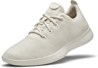 Allbirds Men's Wool Runners - Natural White (Cream Sole)
