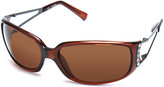 GUESS Women's Sunglasses BROWN - Brown Embellished Sunglasses - Women