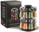 Cole & Mason Hudson 16 Jar Herb and Spice Rack Carousel