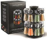 Cole & Mason Hudson 16 Jar Herb and Spice Rack Carousel