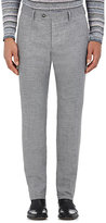 John Varvatos Men's Wool-Linen Slim Trousers