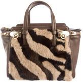 Salvatore Ferragamo Mink Fur Verve Bag