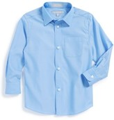 Nordstrom Toddler Boy's Cotton Poplin Dress Shirt