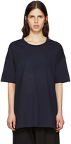 Y's Navy All Needles Big T-Shirt
