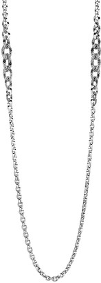 """John Hardy Classic Chain Knife-Edge Link Necklace, 36""""L"""