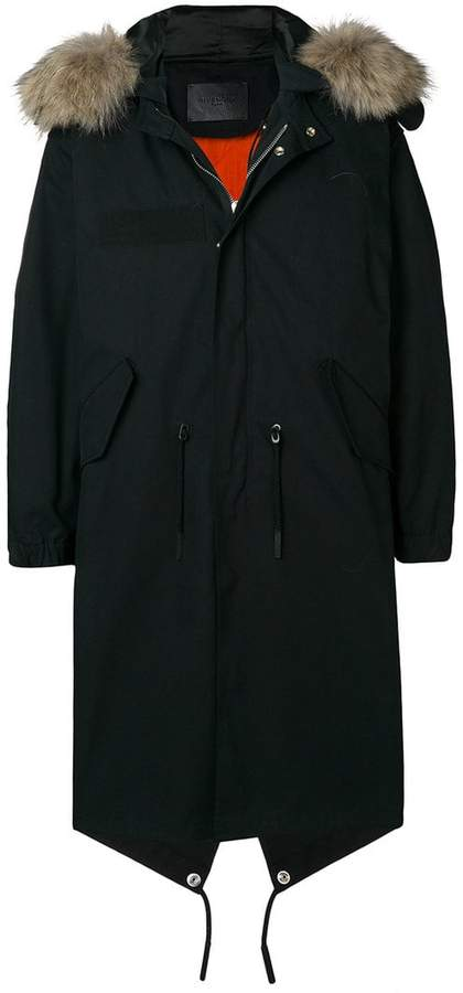 Givenchy side stripe parka