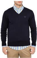 Gant Light Weight Cotton V-Neck Knit