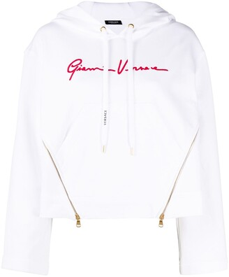 Versace Gianni cotton hoodie