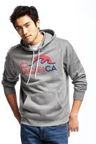 Old Navy Graphic Fleece Pullover Hoodie for Men
