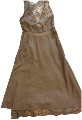 Vanessa Bruno Khaki Lace Dress for Women