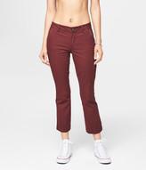 Skinny Kick Flare Crop Pants