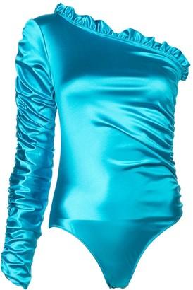 Fantabody Carol ruffle bodysuit