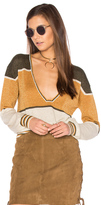 Free People Gold Dust Pullover Top