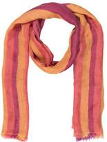 Loro Piana Silk-Blend Tricolor Scarf